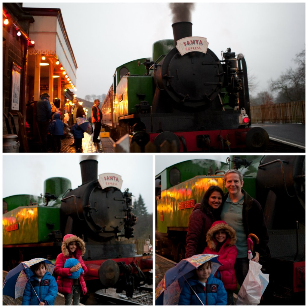 Churnet Valley's Santa & Steam Train