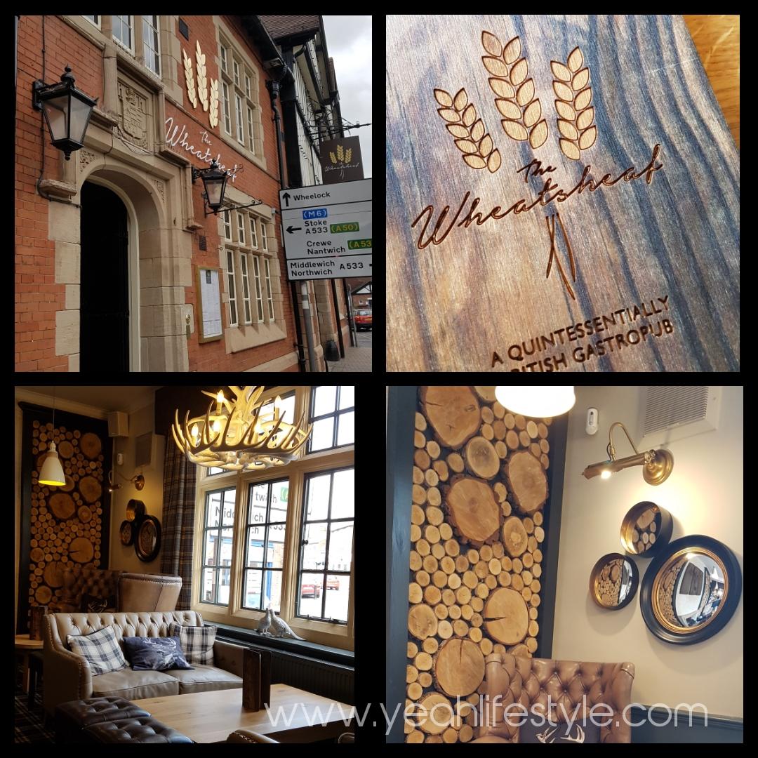 We reviewed British Gastro Pub Food, Wheatsheaf Restaurant in Sandbach