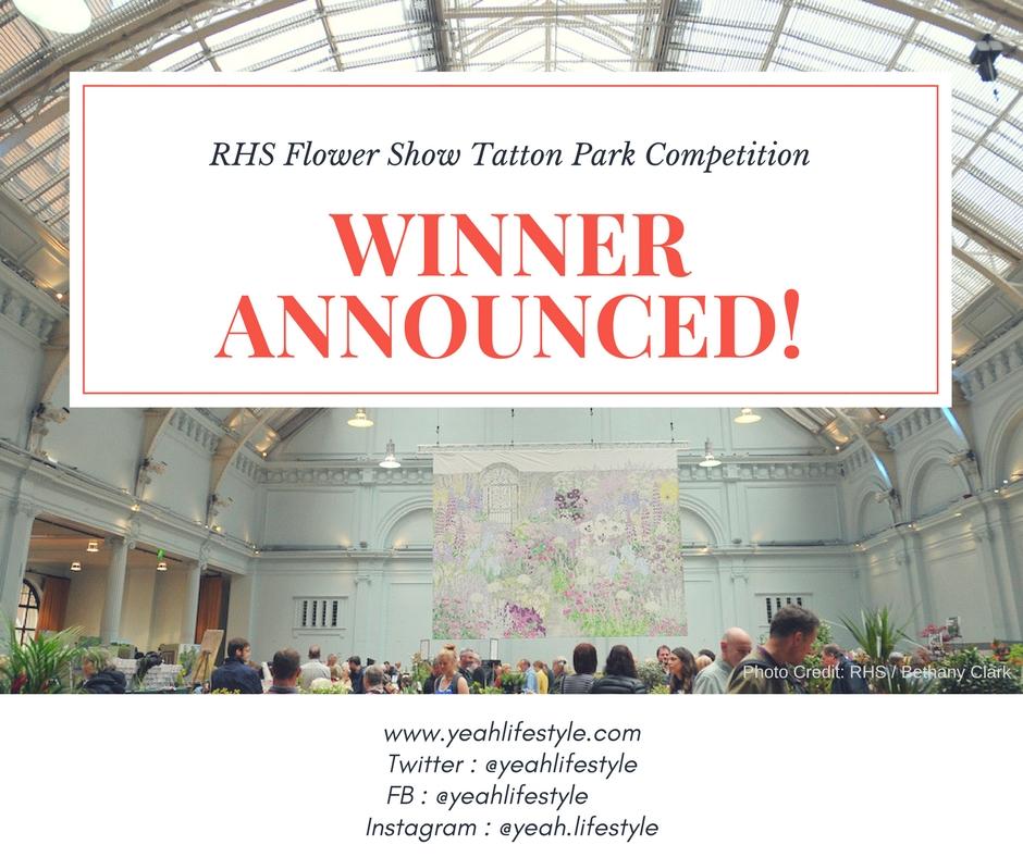 RHS Flower Show Tatton Park Contest Winner