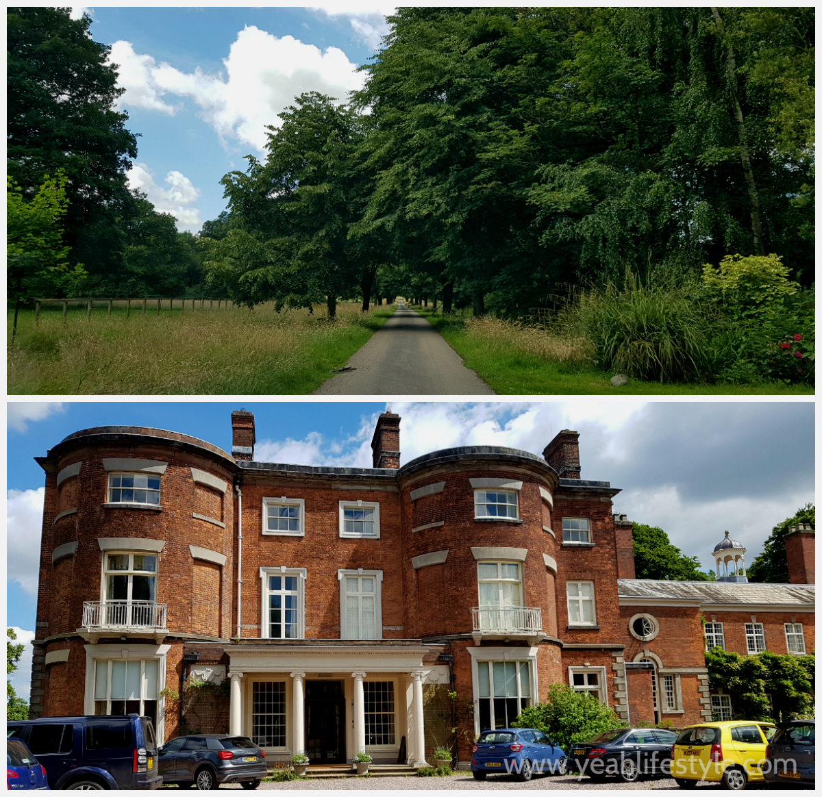 Rode Hall and Gardens Yeah Lifestyle Cheshire Review Famous Blogger