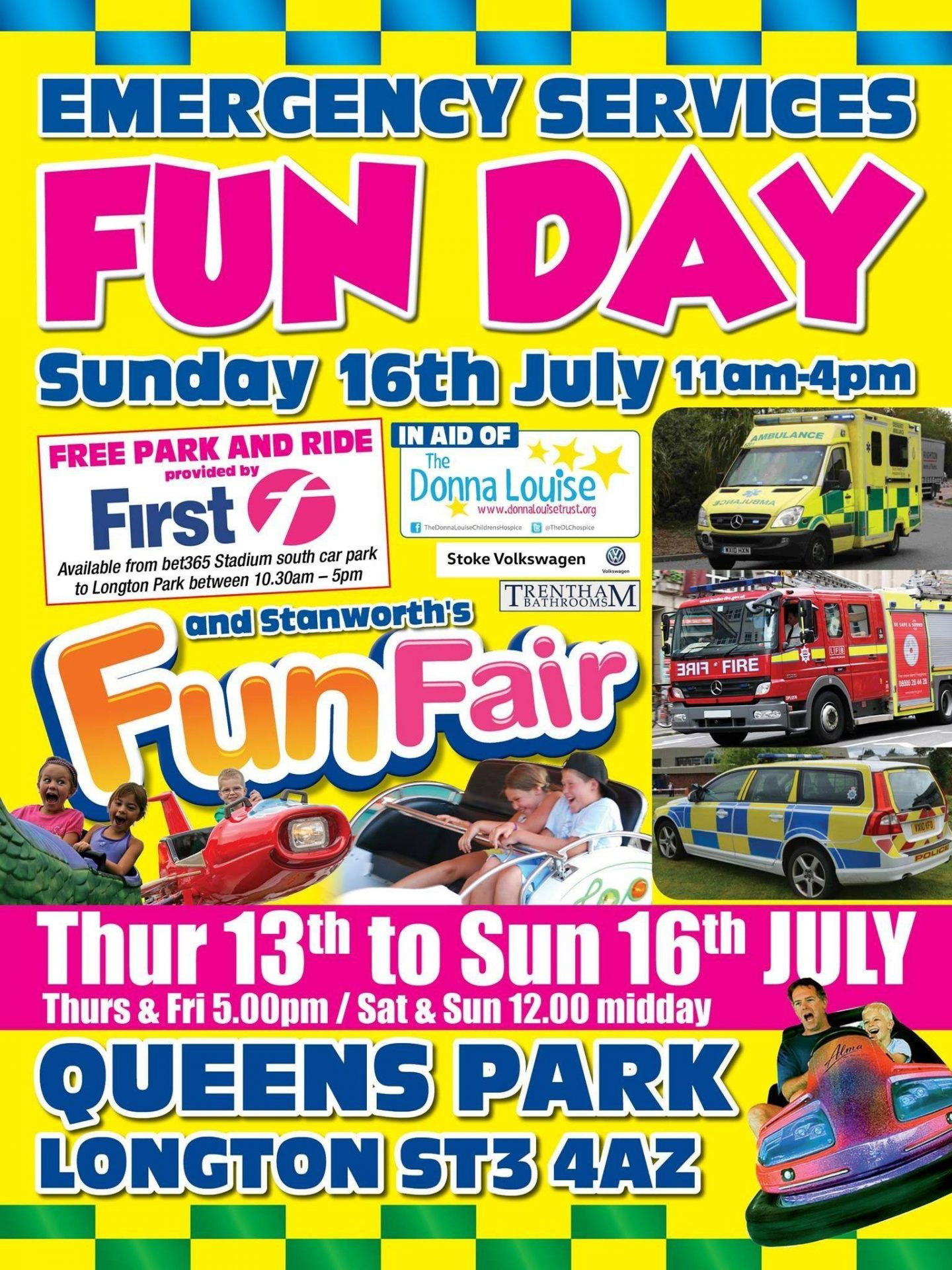 Emergency Services Fun Day