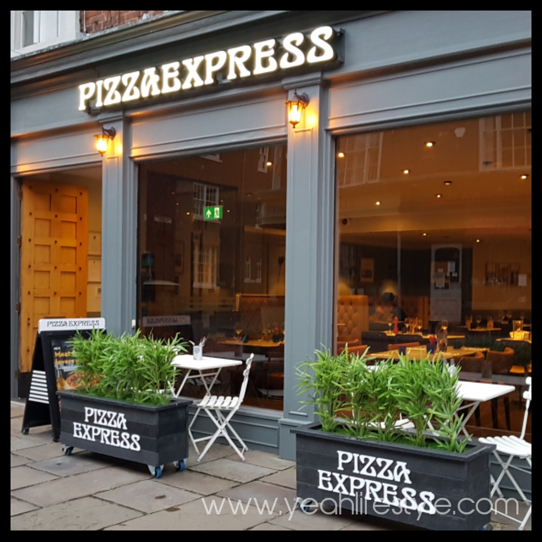 Pizza Expresss Autumn Menu Review In Macclesfield