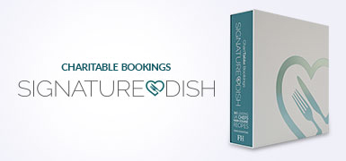 ChariTable Bookings Signature Dish Cookbook Review