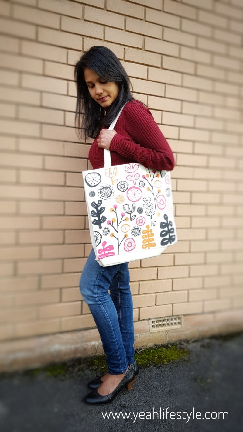 Cotton-Bag-Selfie-Natural-Blogger-Review-Yeah-Lifestyle