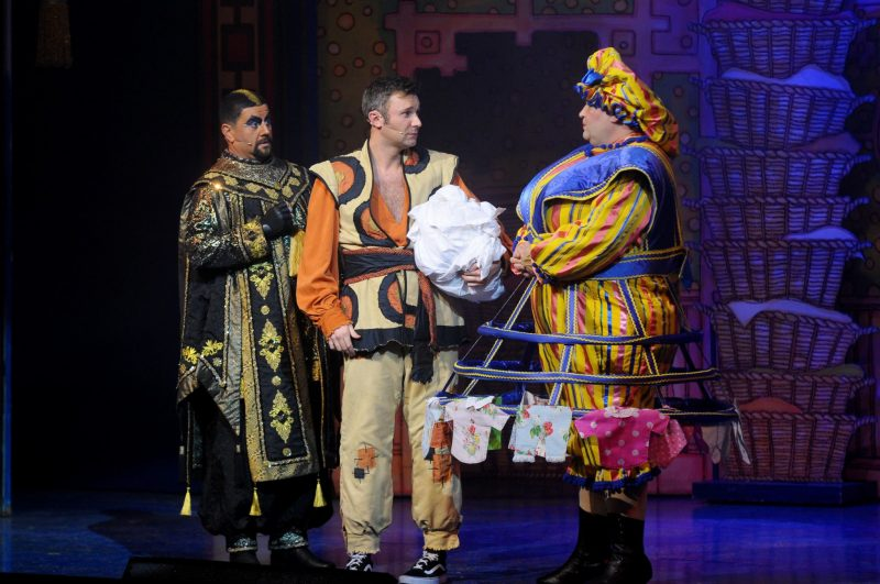 The-Regent-Theatre-Aladdin-Panto-Press-Night-Yeah-Lifestyle-Blogger-Review-Widow-Twanky-Abanazar