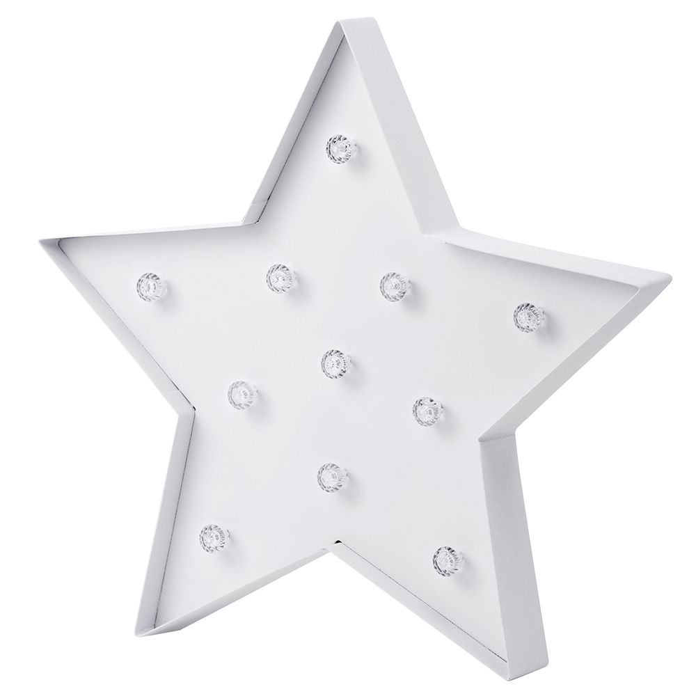 Novelty Star Shaped Table Or Wall Light White Yeah Lifestyle Blogger Review