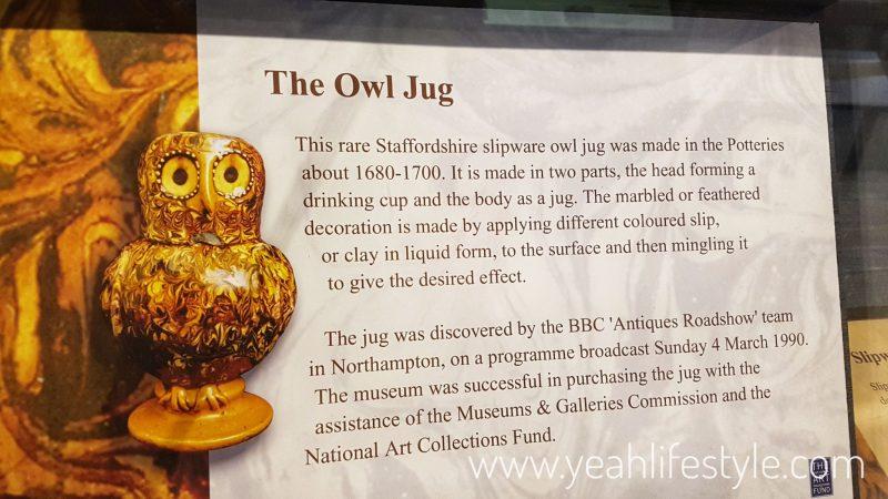 Hanley-Museum-Kids-Activity-Stokeontrent-Staffordshire-Blogger-Travel-Owl-Jug