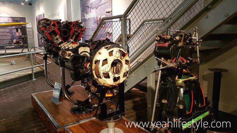 Hanley-Museum-Kids-Activity-Stokeontrent-Staffordshire-Blogger-Travel-Spitfire-Engine