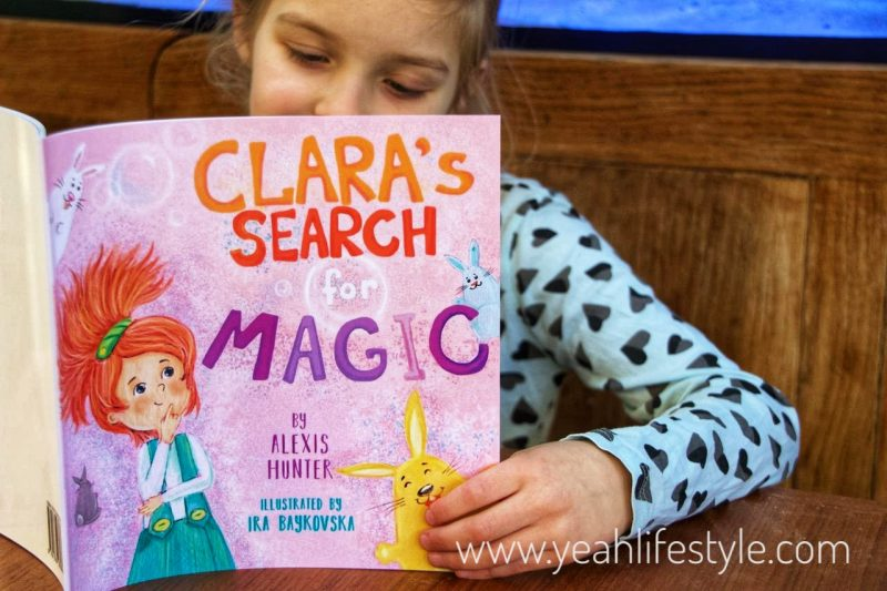 Book Review: Clara's Search for Magic by Alexis Hunter *