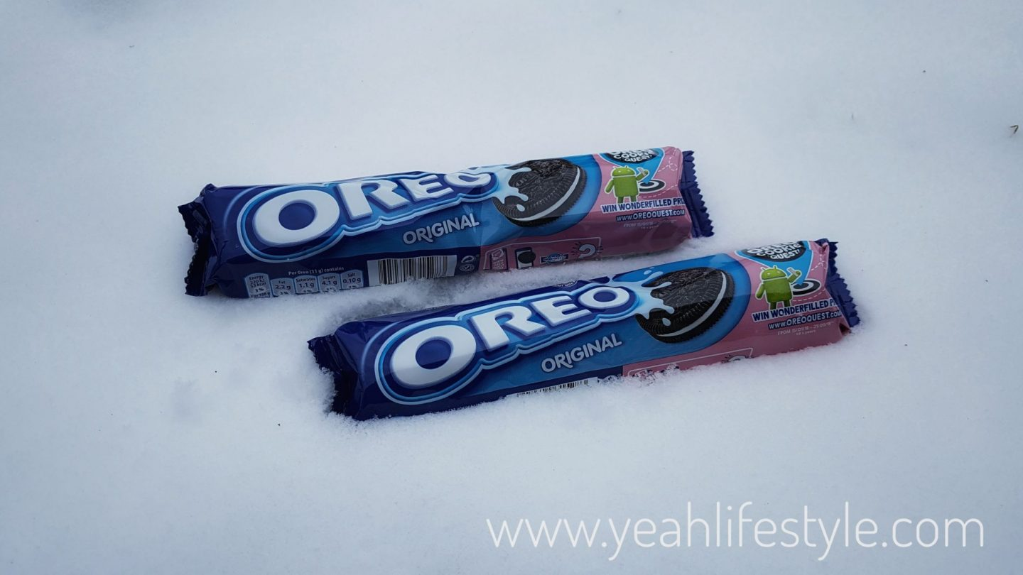 The Great #OreoCookieQuest Challenge in the Snow *
