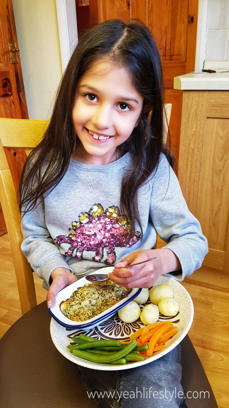 Little-Cook-Box-Kids-Meals-Prepared-Blogger-Review-UK-Eating-Fish
