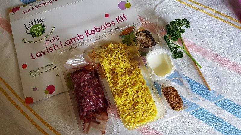 Little-Cook-Box-Kids-Meals-Prepared-Blogger-Review-UK-Lamb-Kebabs