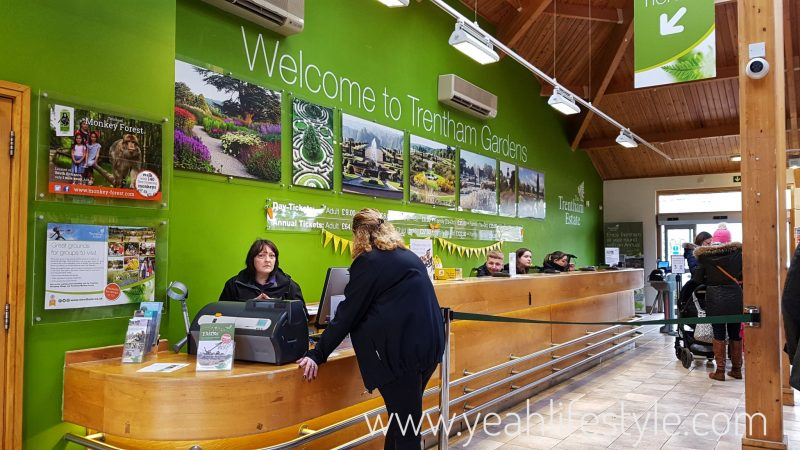 Trentham-Gardens-Staffordshire-Family-Blogger-UK-Kids-Playground-Registration-Desk
