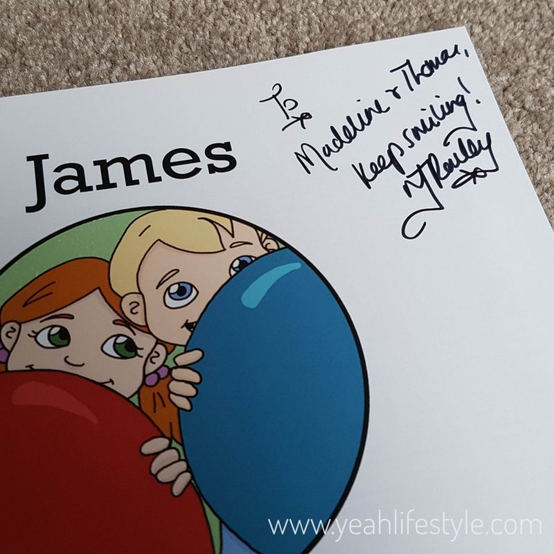 Childrens-Book-James-and-Birthday-Balloon-Nicola-Rowley-Blogger-Review-UK-Win-Signed-Copy