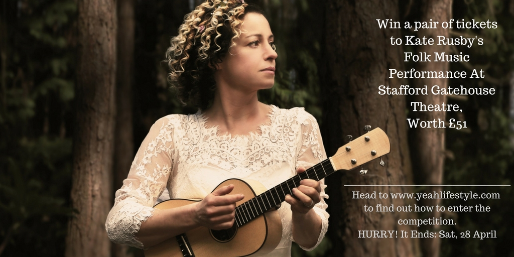 Win a pair of tickets to watch Folk Performer Kate Rusby at Stafford Gatehouse Theatre