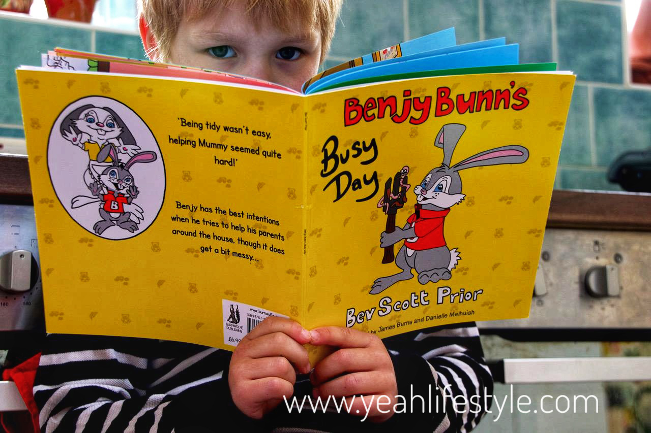 Benjy Bunn's Busy Day Book Review and chance to win a copy of the book *