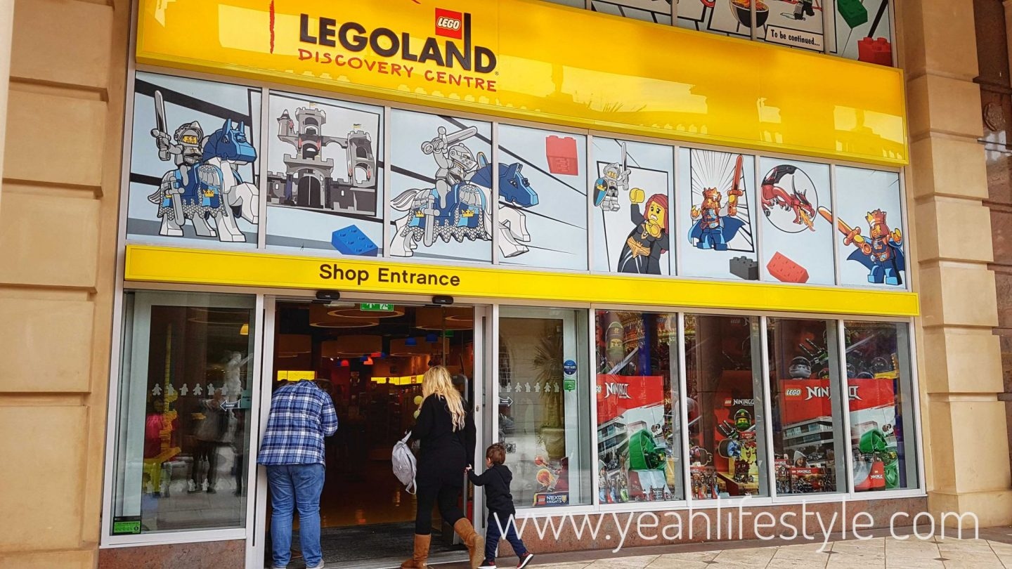 Family Day out at Legoland Discovery Centre, Manchester *