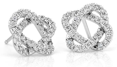 May Gift Guide Pair of Diamond Earrings