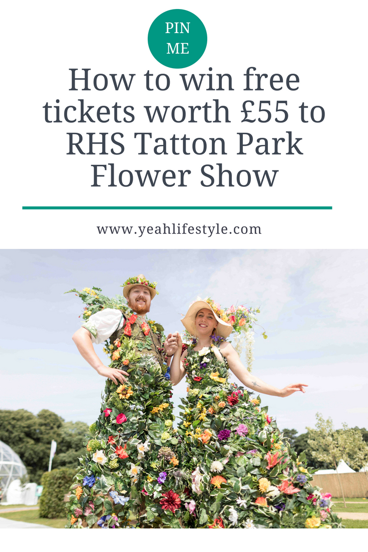 How-to-win-free-tickets-worth-£55-to-RHS-Tatton-Park-Flower-Show-Pinterest