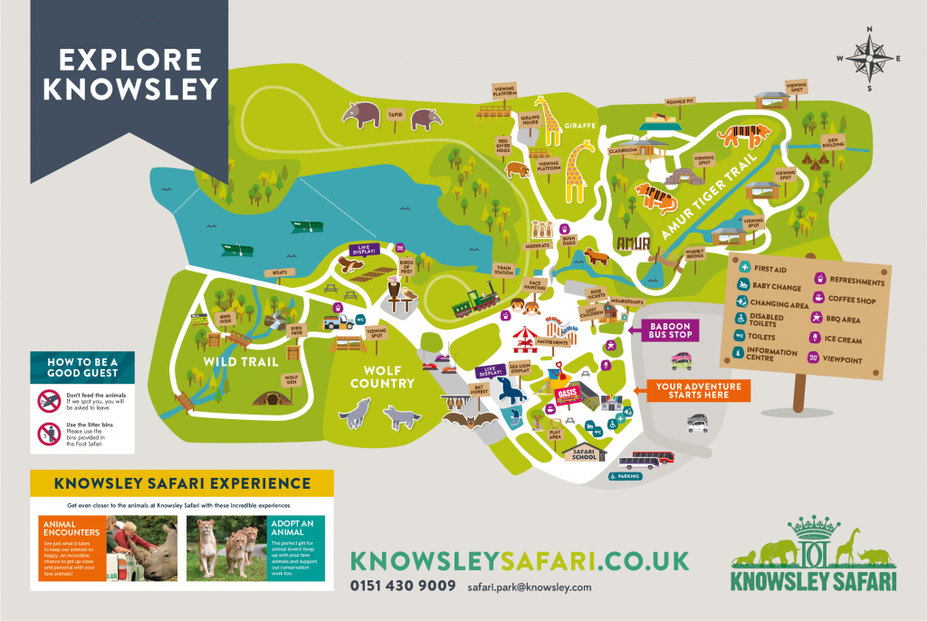 Knowsley-Safari-Park-Blogger-Review-Family-Day-Out-Maps-Foot-Safari