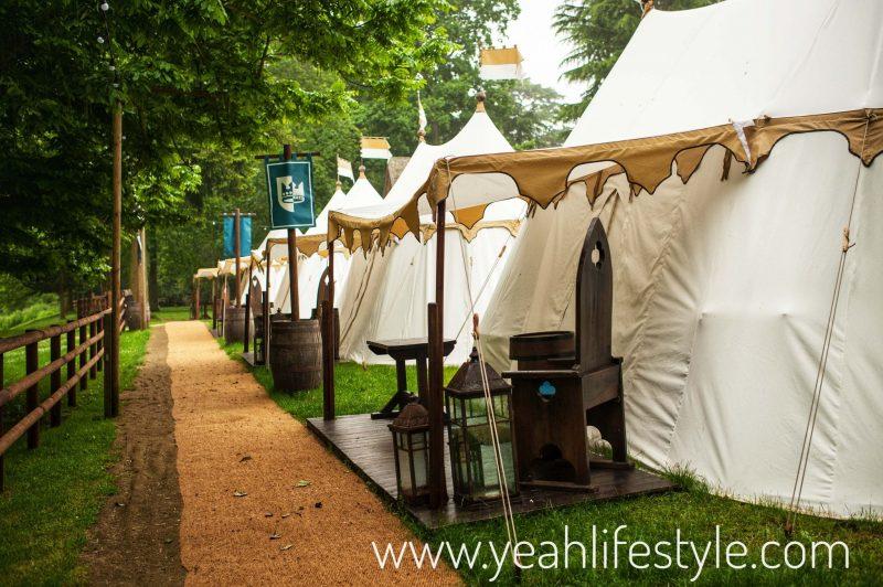 Luxury-Family-Glamping-Getaway-Warwick-Castle-Avenue-of-Kings-Tents-Warwickshire
