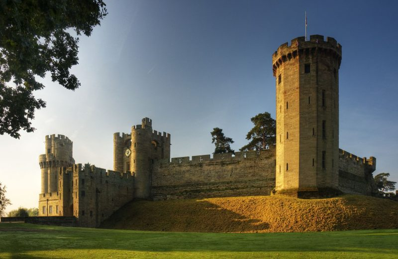 Luxury-Family-Glamping-Getaway-Warwick-Castle-East-Front