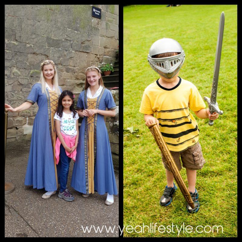 Luxury-Family-Glamping-Getaway-Warwick-Castle-Kids-Dress-Up