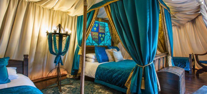 Luxury-Family-Glamping-Getaway-Warwick-Castle-Kings-Tent