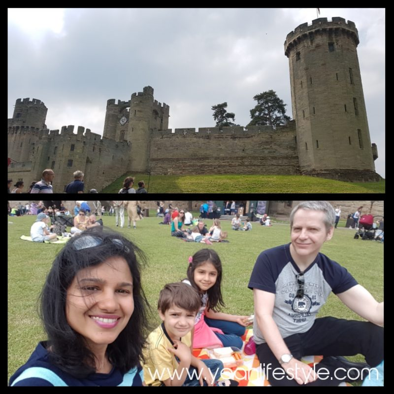 Luxury-Family-Glamping-Getaway-Warwick-Castle-Picnic