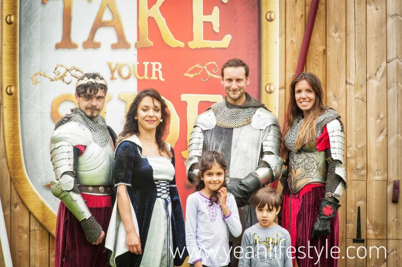 Luxury-Family-Glamping-Getaway-Warwick-Castle-War-Roses-Cast
