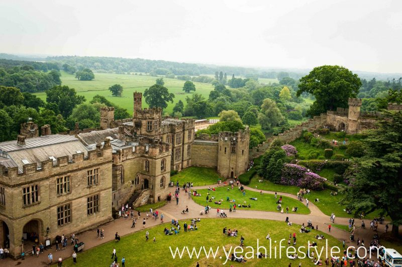 Luxury-Family-Glamping-Getaway-Warwick-guy-tower-view