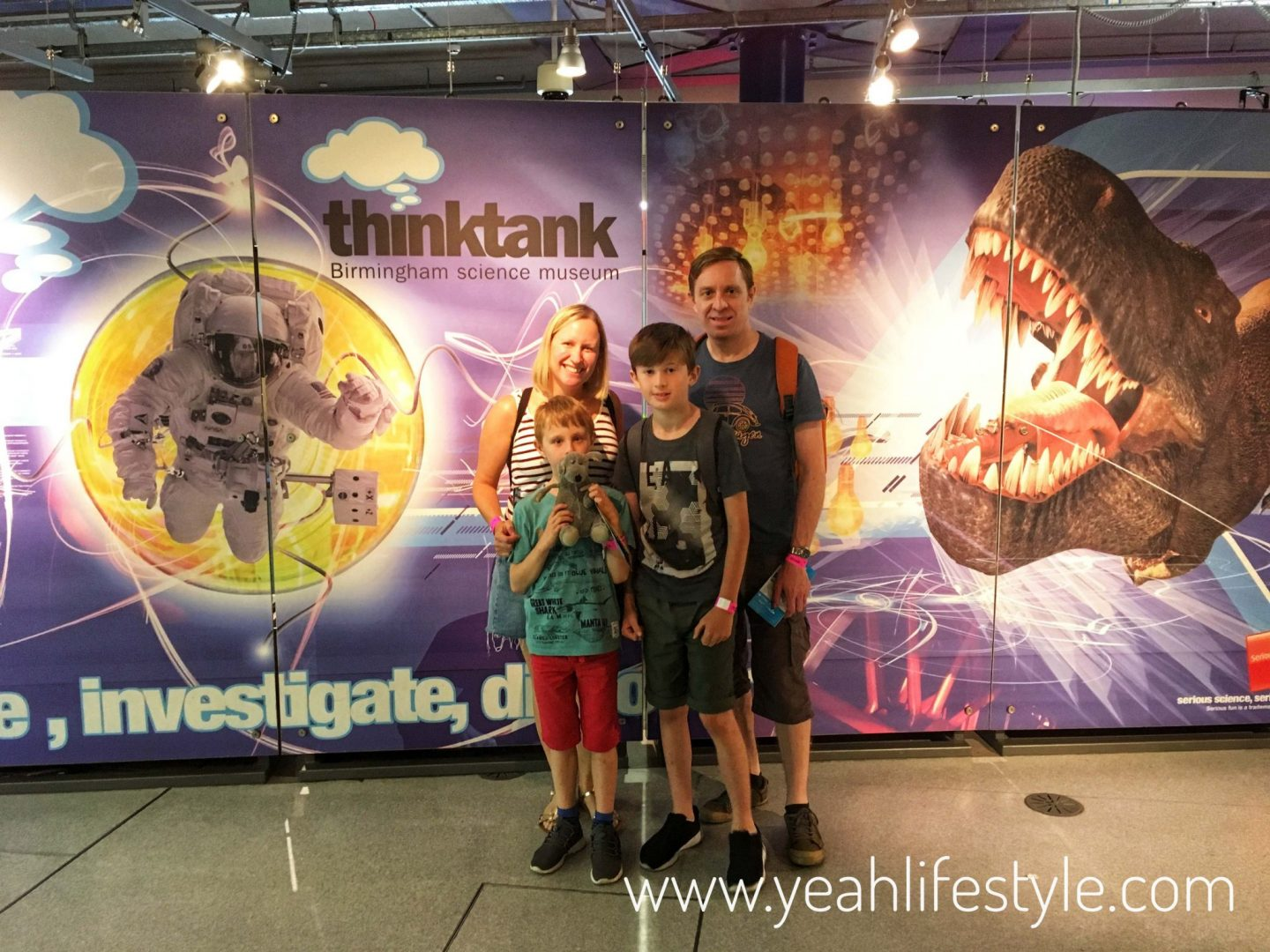 Day Out at the Thinktank Science Museum in Birmingham *