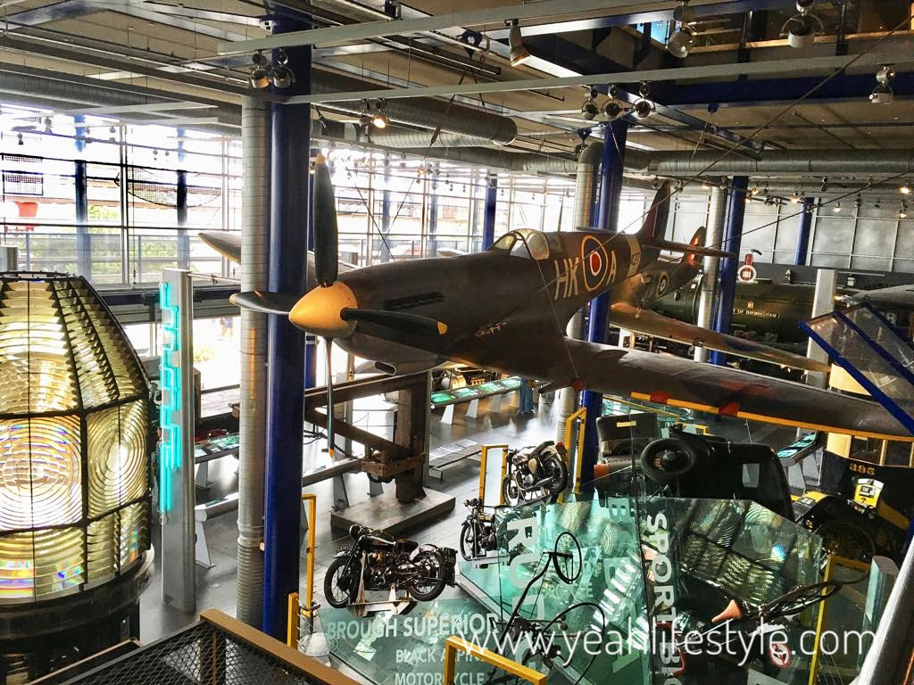think-tank-birmingham-museum-blogger-review-museum-spit-fire-airplane