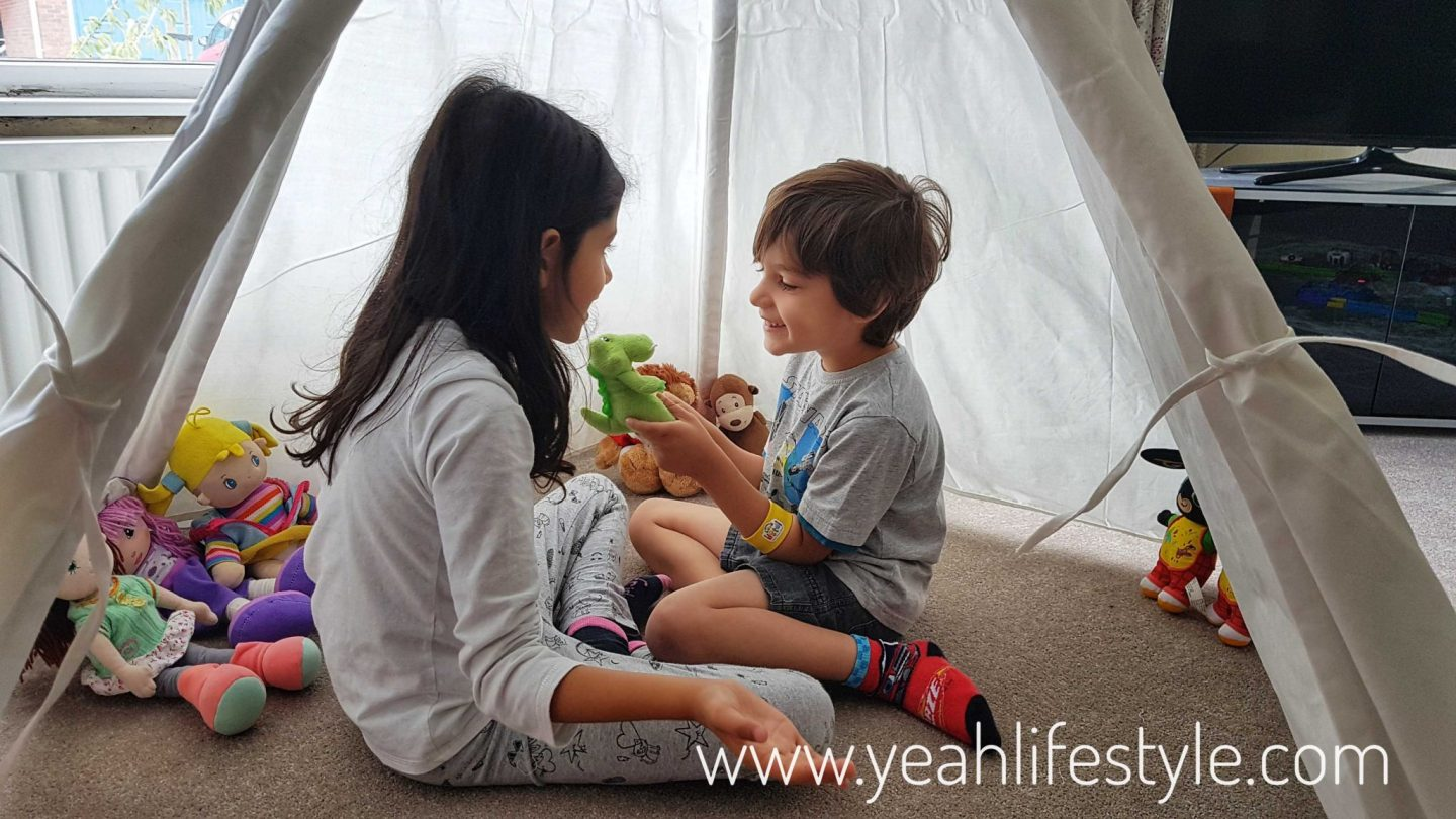 Hobby-Craft-Teepee-Kids-Decorate-Paint-Activity-Blogger-Review-Fun-Play