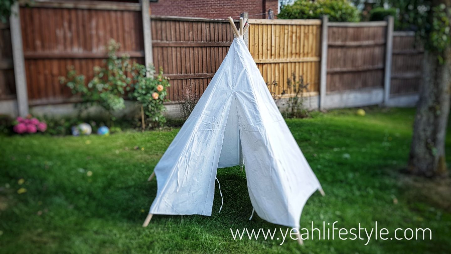 Review of Ready to Decorate Teepee by Hobbycraft *