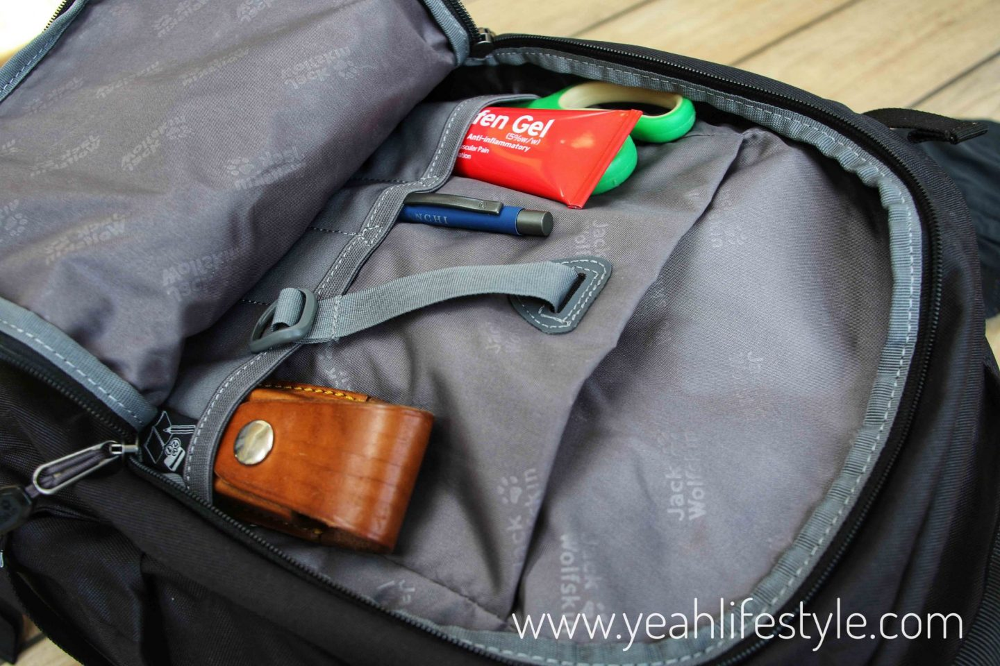 Simply-Hike-Jack-Wolfskin-Rucksack-Vent-Cap-Blogger-Review-Bag-Compartment