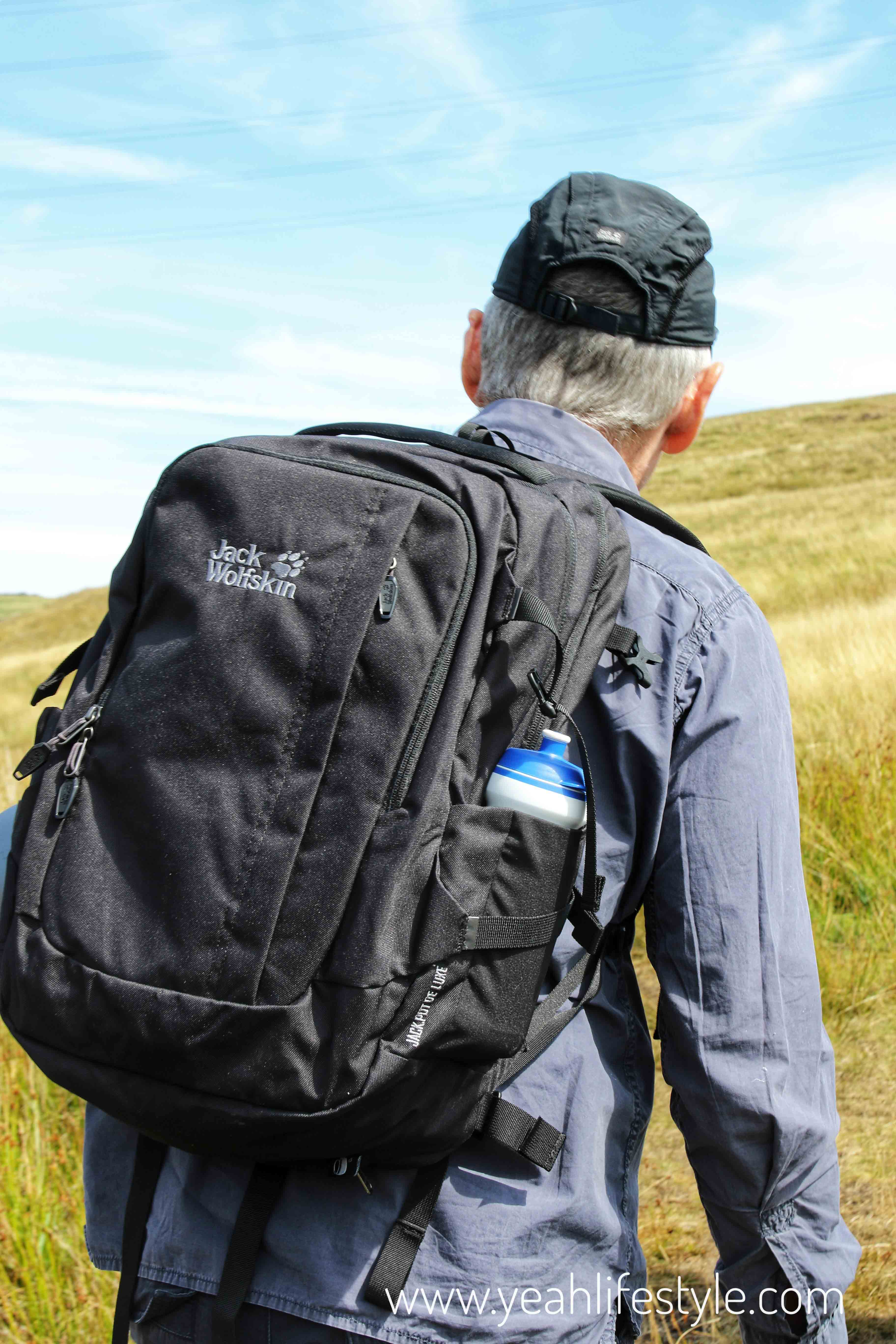 Simply Hike Jack Wolfskin Rucksack Vent Cap Blogger Review Hiking