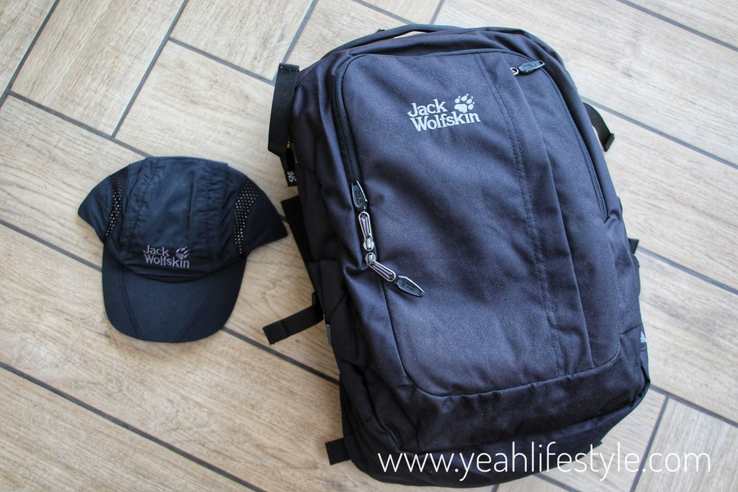 Simply Hike's Jack Wolfskin Hiking Cap and Rucksack Review *