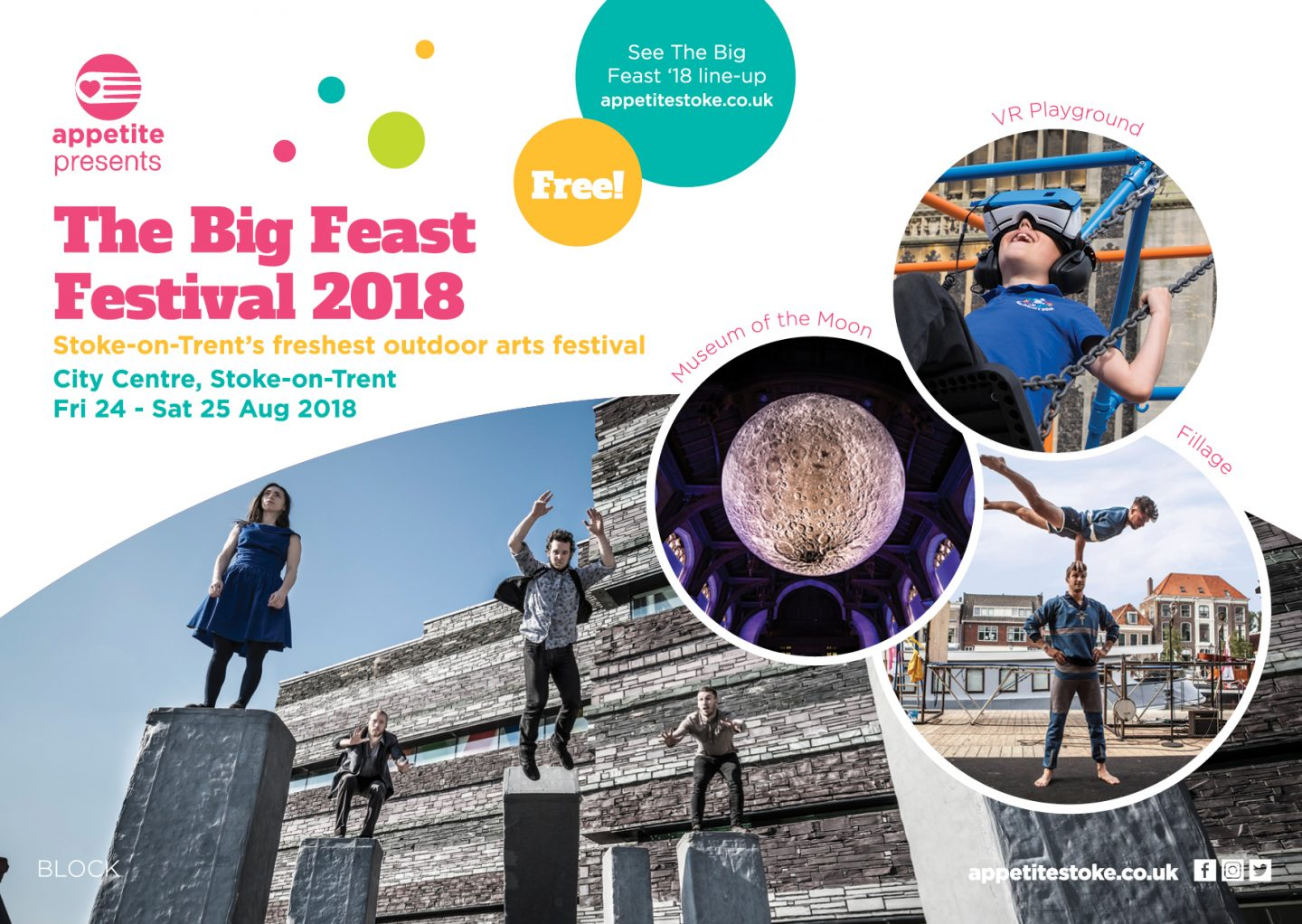 The Big Feast – Stoke-on-Trent's Tastiest Outdoor Arts Festival – Is Back!
