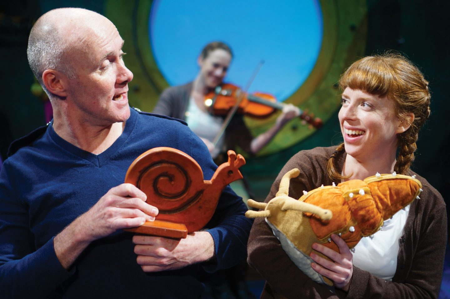 Julia Donaldson's Snail and the Whale is set for Stafford Gatehouse Theatre