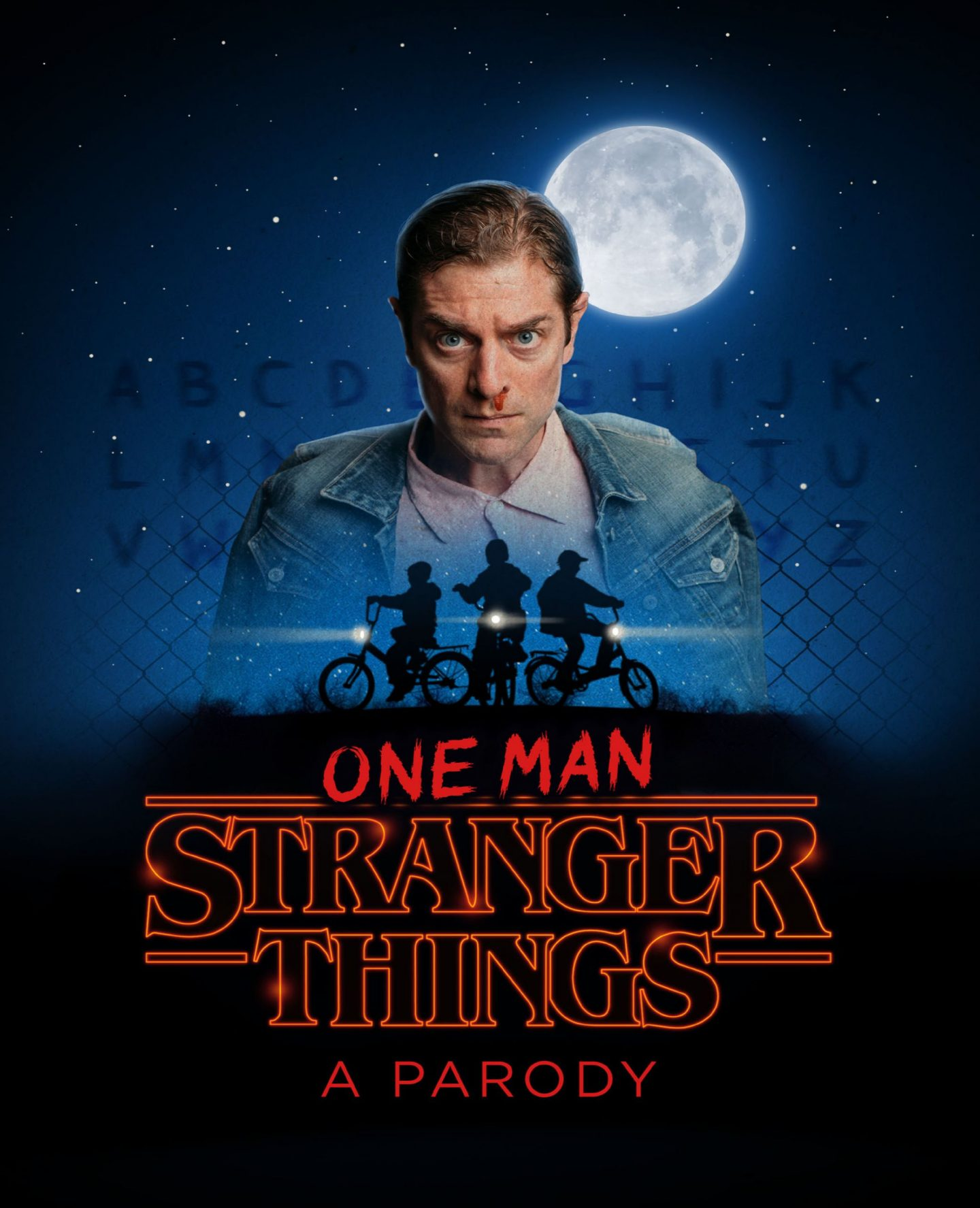 UPDATE: SHOW CANCELLED – Win a pair of tickets worth £43 to watch One Man Stranger Things: A Parody