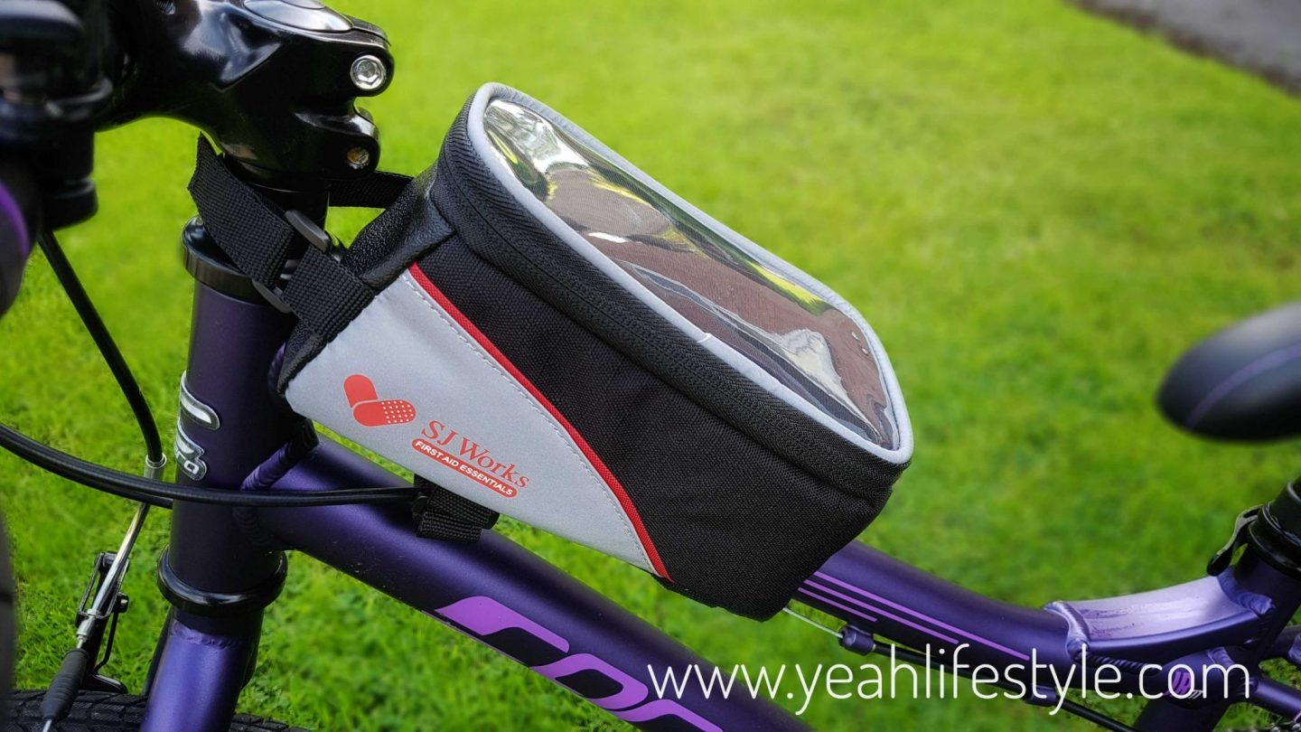 We review SJ Works Bicycle First Aid Kit on our blog