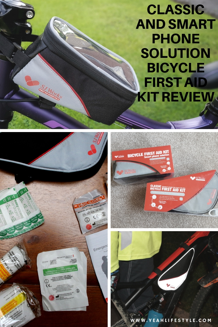 SJ Works Bicycle First Aid Kit Essential-Blogger Review