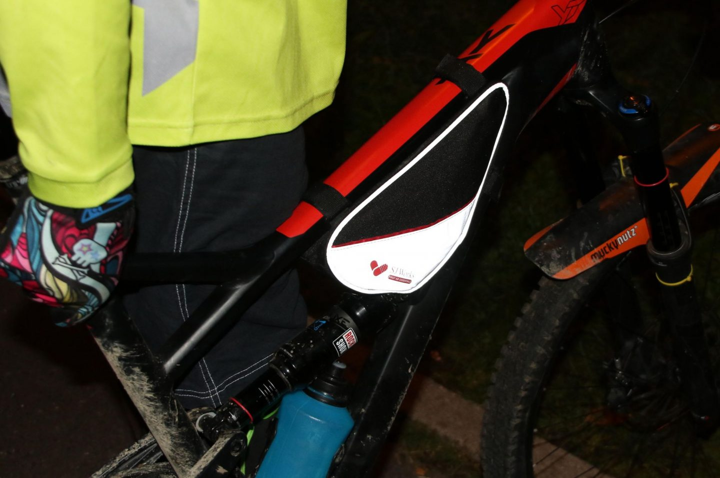 Photo of first aid kit for bicycle