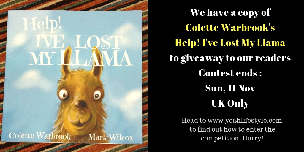 Children-Book-Help-Ive-Lost-My-Llama-Book-Review-competition