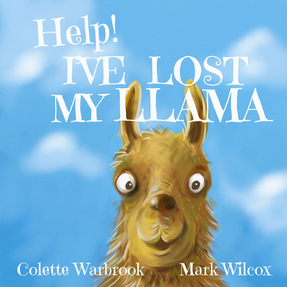 Help! I've Lost My Llama Children's Book Review and Competition *