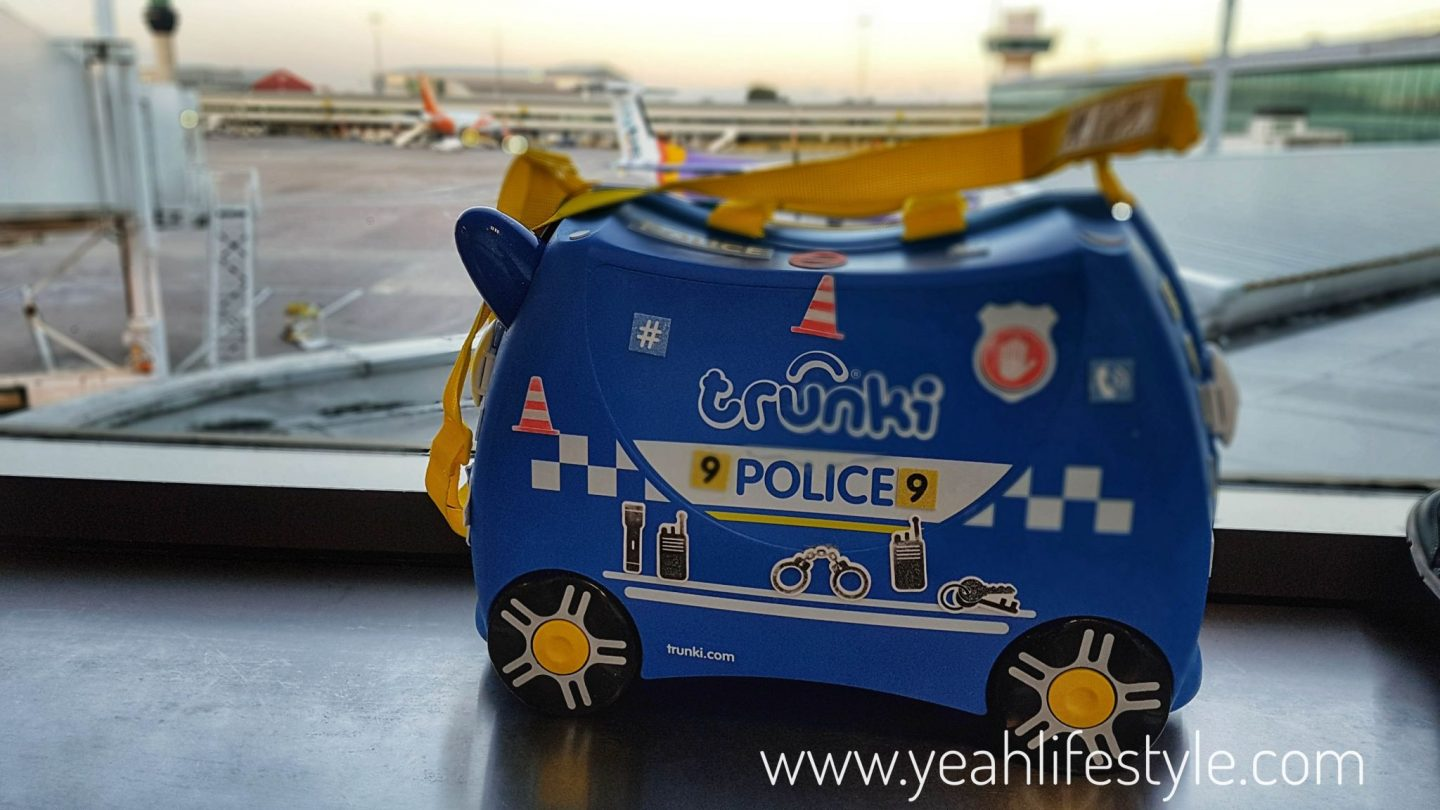 Percy the Police Car Trunki Kids Travel Bag Review *