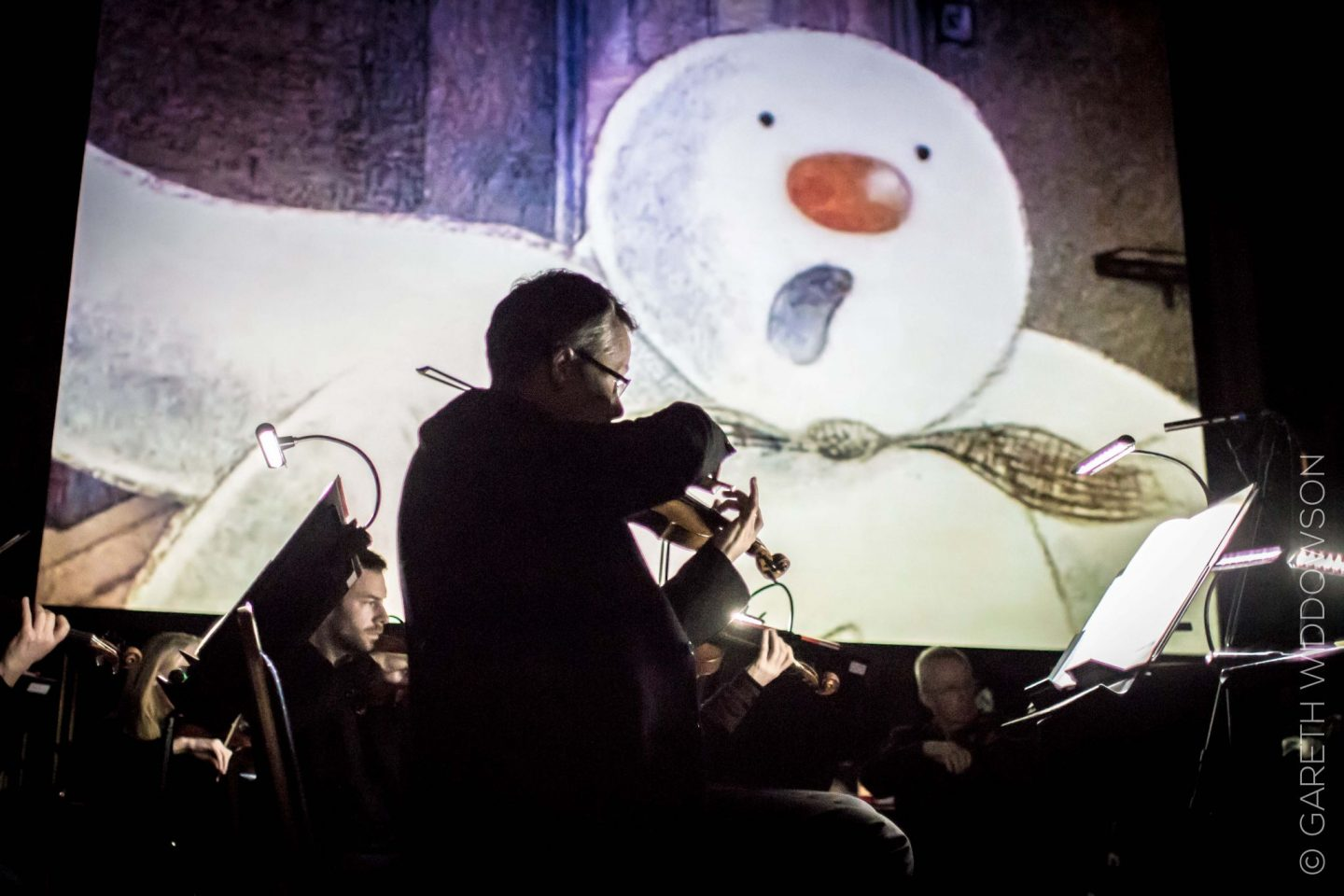 the-snowman-and-violin