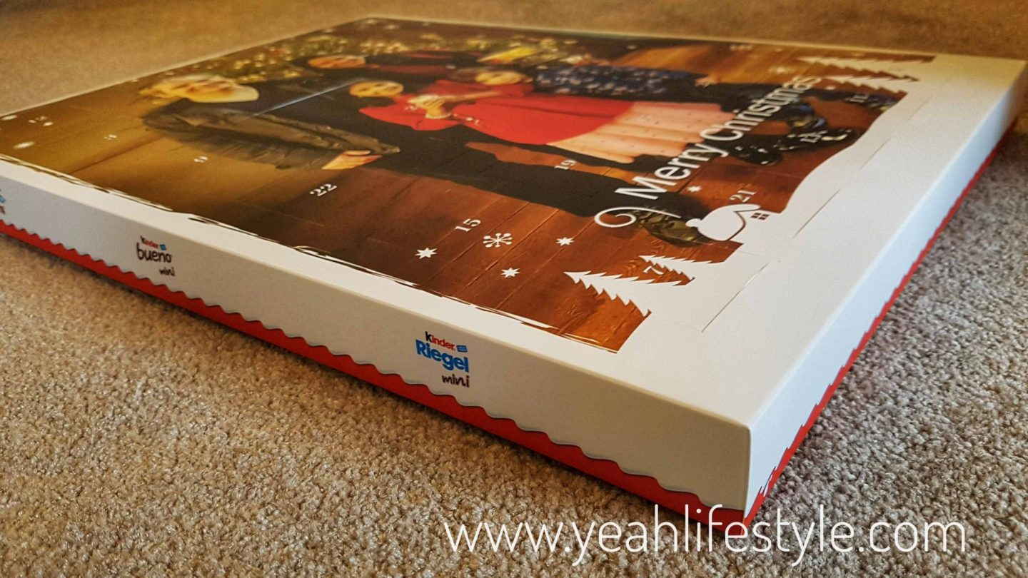 Photo Advent Calendar with Kinder Chocolate Review **