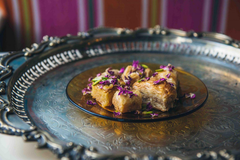 Comnptoir-Libanais-Christmas-Menu-Food-Blogger-Manchester-UK-Baklawa-Dessert
